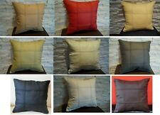 Pillow Cushion 100% Real genuine Leather sofa decorating pillows Cushions