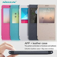 Nillkin S-view Flip PU Case APP Auto Sleep Cover for Samsung Galaxy Note 4 N9100