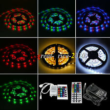 5/10/15 Metri Bobina Stricia 3528 SMD Luci A LED RGB Strip Light 16 Colori DC12V