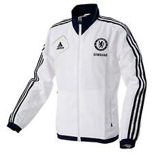 Chelsea Adidas White Adults Long Sleeve Polyester Football Jacket 2012-13 W37769