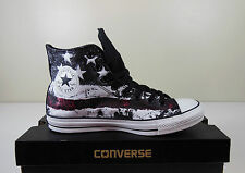 Converse American / USA flag Chuck Taylor All Star Hi-Top Black / Red Sneakers