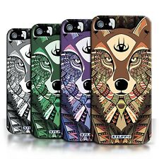 STUFF4 Back Case/Cover/Skin for Apple iPhone 5/5S/Aztec Animal Design