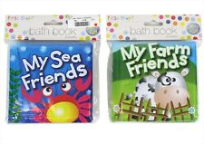 BRAND NEW BABY BATH BOOK PLASTIC COATED FUN EDUCATIONAL TOYS FOR CHILDREN