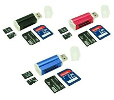 USB 2.0 Ultra MicroSDHC SD SDHC SDXC UHS-I Memory Card Reader Writer Flash Drive