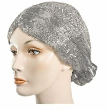 Old Lady Bun Wig - Christmas Mrs. Claus Wig - Available in Gray or White