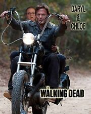 Your picture on a custom T shirt with Daryl Dixon! Walking Dead Motorcycle