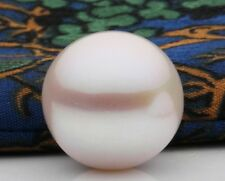 80%OFF (8.5-11mm)AAA+++ Akoya 1x Loose Natural White Pearls Half Drilled