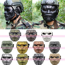 Hot Tactical Military Hero of Sparta Skeleton Full Face Mask Costume Halloween