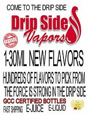 VAPE FIRST NEW FLAVORS PREMIUM QUALITY E-LIQUID E-JUICE 30ML BOTTLES