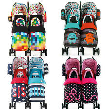 COSATTO SUPA DUPA TWIN/DOUBLE STROLLER/PUSHCHAIR/BUGGY BABY/TODDLER TRAVEL NEW