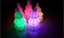 6 Pcs LED New Christmas Tree Decoration Lamp Night Light Color Changing Colorful