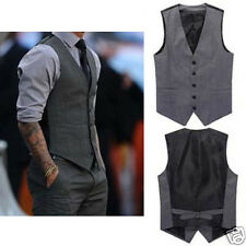 Mens Premium fashion good-looking Slim Waistcoat Vest  For Suits Tops FG