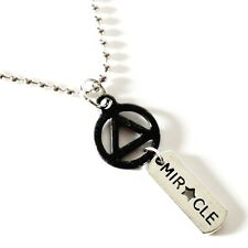 AA Symbol MIRACLE Necklace 12-Step Recovery Alcoholics Anonymous Sobriety Gift