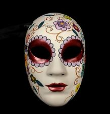 Día de Muertos Day of the Dead Sugar Skull Mask Thanksgiving Christmas New Year