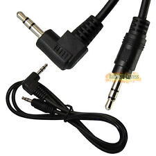 2.5Ft/3Ft 3.5mm Right Angle Male to Male Stereo Audio Cable Cord For iPod MP3 PC