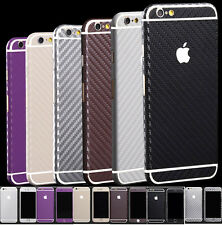 Carbon Fibre Body Skin cover case Protector Wrap Sticker Decal For iPhone 6 4.7""