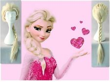 2014 Hot selling long white party cosplay Elsa Adults Children wigs