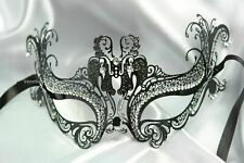Metal Womens Prom Costume Christmas New Year Eve Masquerade midnight party Mask