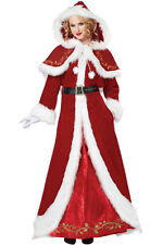 Brand New Brand New Deluxe Mrs. Santa Claus Christmas Adult Costume