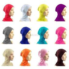 Cotton Under Scarf Hat Cap Bone Bonnet Neck Cover Hijab Islamic Head Wear A83
