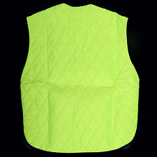 Hi Viz Lime Cooling Vest Motorcycle Cycling Sport Construction Outdoor Safety