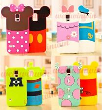Cute 3D For Disney Soft Silicone Back Case Cover For Samsung Smart Cell Phones