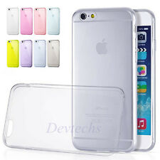 """For Apple iPhone 6 4.7"""" Ultra Thin Transparent Soft Gel Fitted Case Skin Cover"""