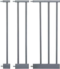 Extensions MEGANE   3 dimensions   GREY for children safety gates stair gates