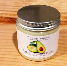 Natural Organic Body Butter & Facial Cream {SUPER AVOCADO}~Maracuja oil base w/