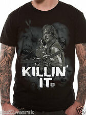 Official The Walking Dead Killin ' It  T Shirt   M L XL Killing NEW Daryl Dixon