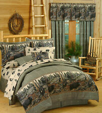 The Bears Bed in a Bag with Sheets - Rustic Lodge EZ Bedding Set