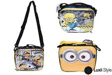 Despicable Me 2 Minion Canvas Lunch Bag Insulated Box Lunchbag
