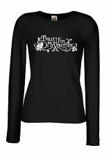 BULLET FOR MY VALENTINE LOGO Lady Long Sleeve T-shirt Woman Rock Band Tee