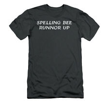 Spelling Bee Runnor Up Humorous Funny Saying Adult Slim T-Shirt