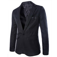 Fashion New Mens Suits Coats Jackets A Button Placket  Blazers On line shopping