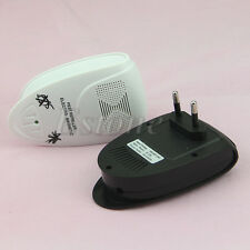 Electronic Ultrasonic Anti Mosquito Pest Mouse Killer Magnetic Repeller US/EU DX
