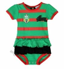South Sydney Rabbitohs Girls Baby Footysuit Bodysuit 'Select Size 000-2 Toddler