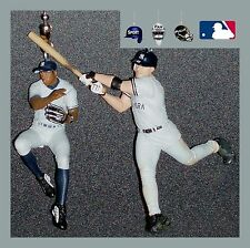 MLB NEW YORK YANKEES TEIXEIRA & SORIANO FIGURE/HELMET/BASE CEILING FAN PULLS