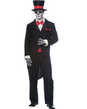 Day Of The Dead Groom Mens Costume