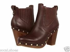 UGG AUSTRALIA WOMEN'S CARBERRY MAHOGANY ANKLE LEATHER UGG BOOTS 1005755 NEW UGG