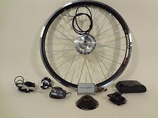 Ebikeling Electric Bicycle Conversion Kit 48V 500W Geared 700c Front Rear ebike