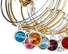 Alex and Ani Expandable Bracelet Birthstone You Choose Free Fast Shipping