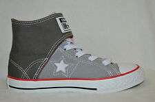 Boy's Converse® One Star® Easy High Top Grey Sneaker