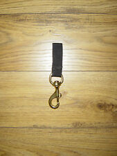 SMALL / LARGE NAVAL BRONZE SWIVEL BOLT SNAP / WITH / WITH OUT WEBBING