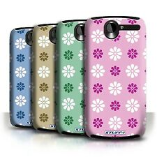 STUFF4 Back Case/Cover/Skin for HTC Desire G7/Petal Pattern