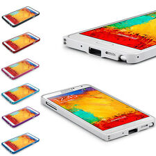 New 0.7mm Aluminum Slim Bumper Case Cover For Samsung Galaxy Note 3 N9000 N9006
