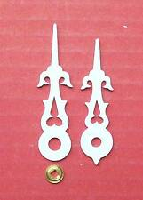 Regula    New  WHITE  cuckoo clock hands to suit  various movement types.