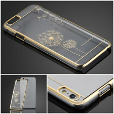 Luxury Crystal Diamond Electroplate Back Case Cover For Apple iPhone5 6 6 Plus