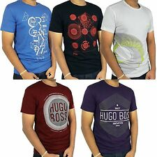 HUGO BOSS Green Label White, Black, Blue, Purple, Red Crew Neck Tee shirt NWT
