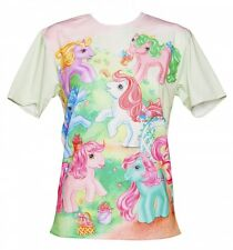 EXCLUSIVE Unisex My Little Pony Vintage Scene T-Shirt from Mr Gugu & Miss Go